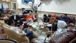Rapat diruang Ketua DPRD Nunukan